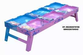 Harga meja 6 sekat untuk main pasir kinetik