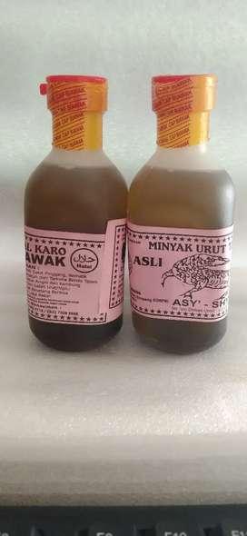 Minyak urut tradisional Karo asli 200ml