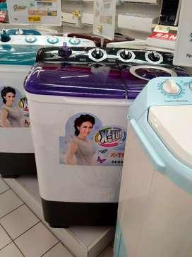 Bisa kredit Sanken mesin cuci 8kg ckp byr 199.000