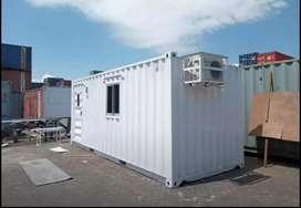Jual Container Office 20 Feet Ready Stok Modifikasi Kantor Siap Kirim