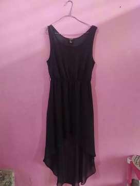 Thrift dress black Forever 21