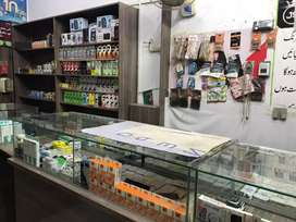 Mobile shop for sale with counters and accesries