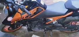 4 Months Old KTM DUKE 200 in Superb condition with insurance