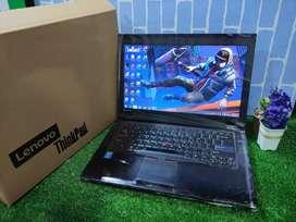 Lelang laptop Branded LENOVO THINKPAD L412-WEPRL6 [Longlife Battery]