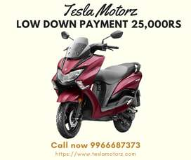 Get all new Suzuki Burgman Street with Low down payment ever