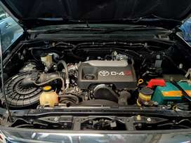 Toyota fortuner G 2010 desel/diesel/disel AT/matic/automatic hitam