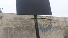 Basketball hoop 10ft with Installed Ring And Board