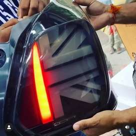 New swift taillight with matrix indicators