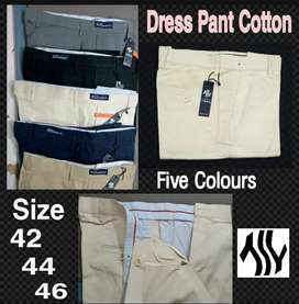 Dress Pants Cotton Chinos