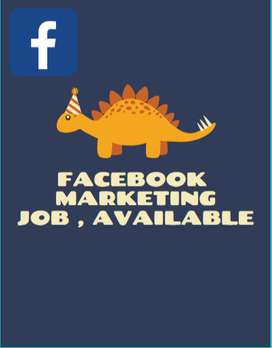 FACEBOOK MARKETING JOB