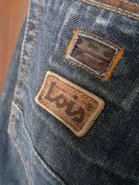 Celana Jeans Lois Original size 28 Slim Fit