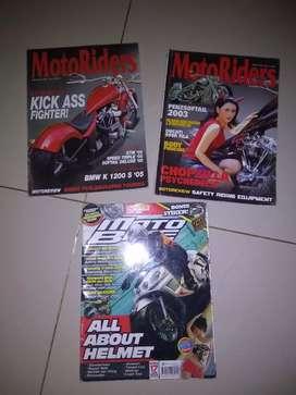 Majalah motoriders showbike bikers moto bike