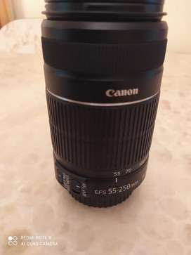 Canon EF-S 55-250mm IS lens