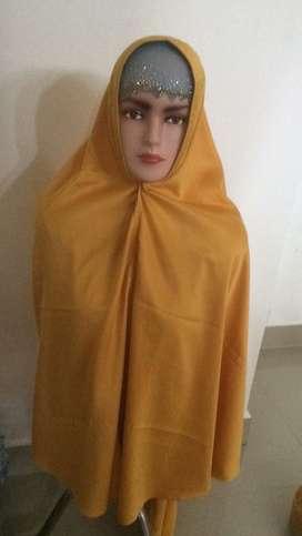 jilbab syar'i pingun pet busa