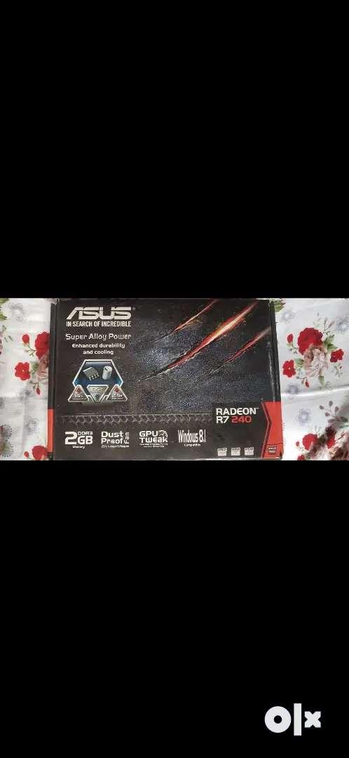 Asus RADEON R7 240 2gb graphics card & Corsair vengeance 4gb RAM