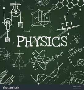 11th and 12th(SSC,ICSE,CBS) Online/Offline Physics Teacher/Tutor