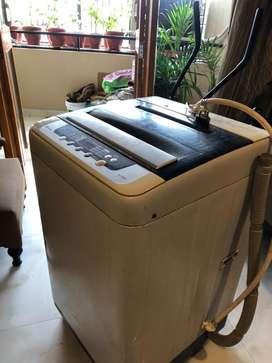 Panasonic fully automatic washine machine@5000