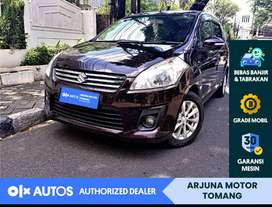 [OLX Autos] Suzuki Ertiga 2014 1.4 GX A/T Bensin Ungu #Arjuna Tomang
