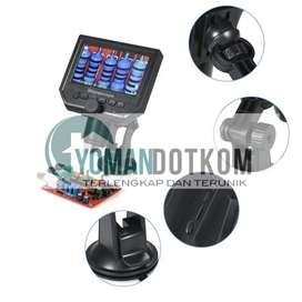 New - (Mikroskop Digital) 3.6MP 600X dengan Monitor