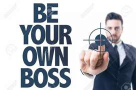 Be your own boss ...