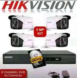 Jual plus pemasangan cctv kamera - kualitas full HD area Bekasi