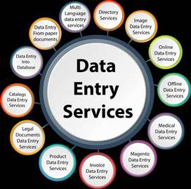 Free time Data entry work:- online typing Home base job available