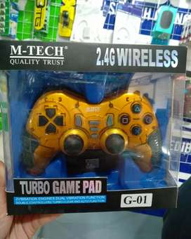 Gamepad Wireless Turbo Mtech G-01