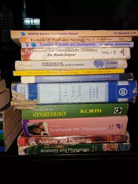 General Nursing and midwifery books
