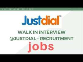 Justdial process hiring for Backend / Data Entry /CCE / Hindi Caller