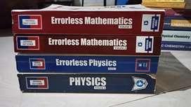 JEE Errorless physics & maths entrance books