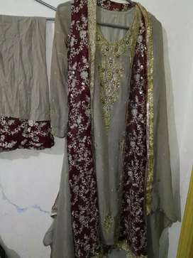 party wear/ weading wear/ shirt with court suit..