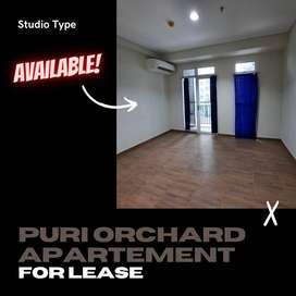 Disewakan Apartemen Puri Orchard View Pool, lantai rendah
