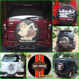 Sarung cover ban Rush Terios Jeep Rubicon Feroza Jimny Katana CR-V dll