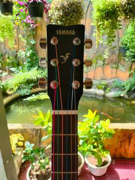 Gitar yamaha fs 100c black original
