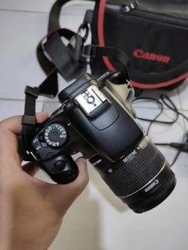 Kamera dslr canon EOS 1100D lensa kit 18-55mm