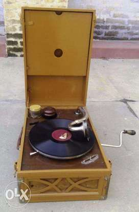 Antique Gramophone is available here