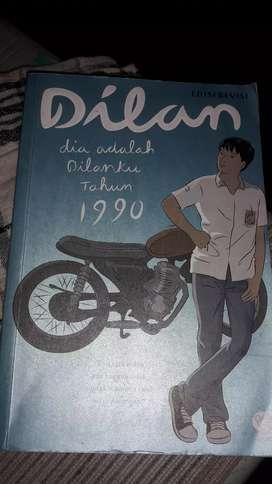 Buku novel dilan 1990 ediai revisi ori