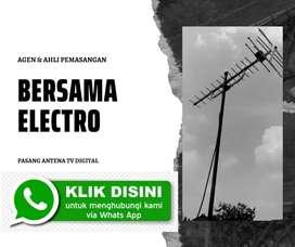 Jasa teknisi pasang signal antena tv