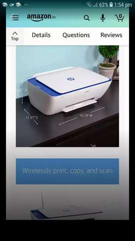 Wireless colour printer  hp