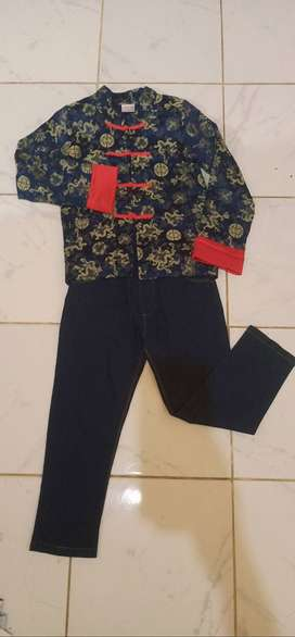 Preloved baju imlek anak