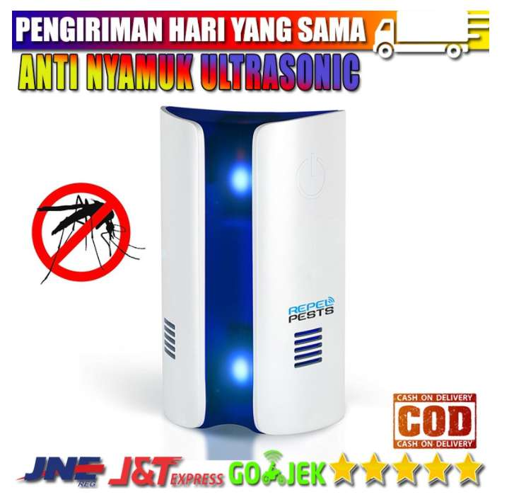 BOSSCONN ANTI NYAMUK ULTRASONIC MULTIFUNGSI MOSQUITO REPELLER 0
