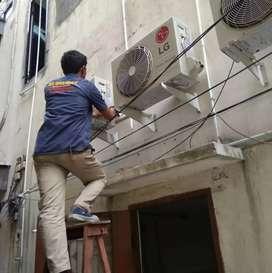 Service -AC -KULKAS -M,CUCI ,CCTV,(Reza service medan17