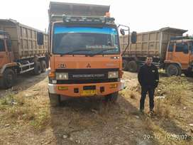 Jual cepat dump truck Mitsubishi