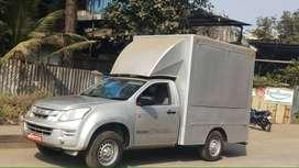 New ISUZU D Max flat deck Food Van (commercial vehicle On road price)