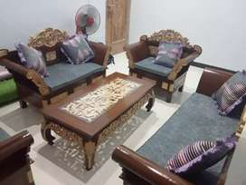 Sofa tamu Matahari siap
