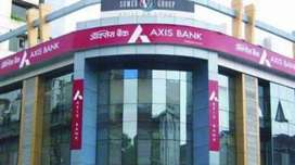 Axis bank need cleark for fresher salary 22500