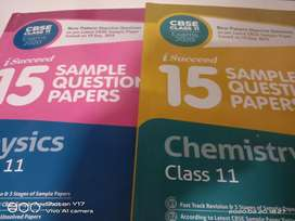 Sample paper class 11 physics and chemistry