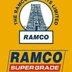 JOB OPENING IN RAMCO CEMENT IN ALL WEST BENGAL .  for Assistant / Help