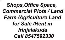Commercial for rent or sale at Irinjalakuda
