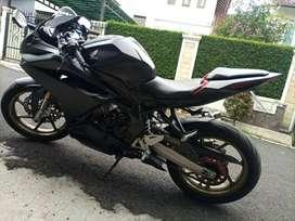 Honda CBR250RR Hitam Doff Non ABS